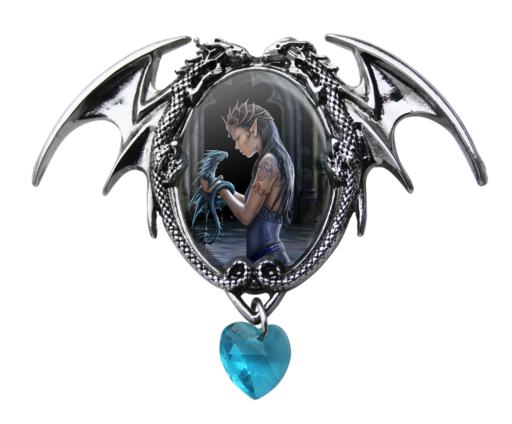 Anne stokes water dragon cameo pendant ascdl clone1 anne stokes water dragon cameo pendant aloadofball Choice Image
