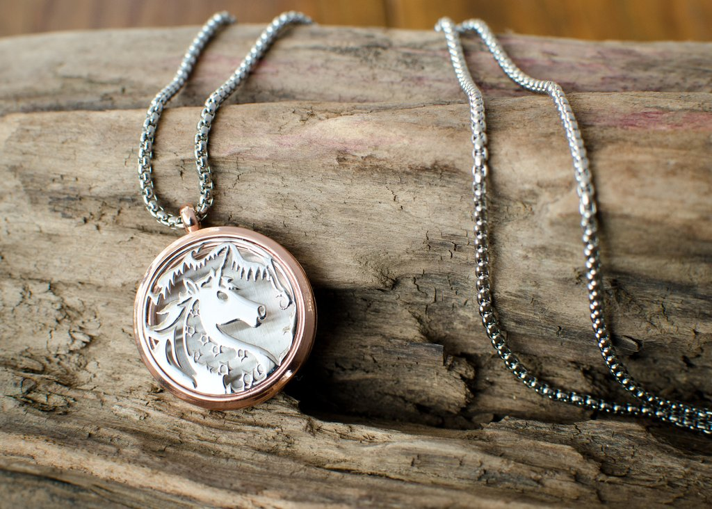 Beautiful Unicorn Aromatherapy Necklace Pendant Quot Imbolc
