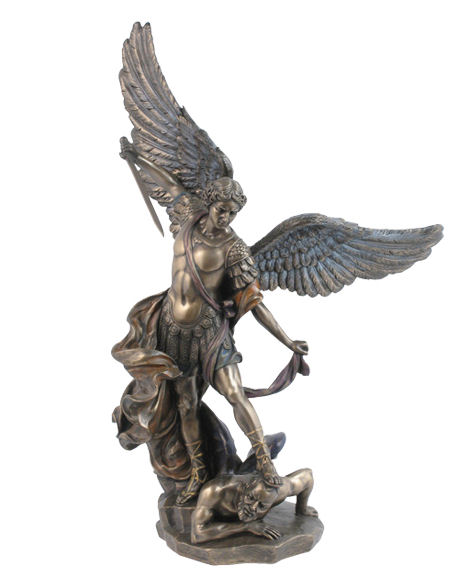 Bronze Archangel Michael Statue 8693