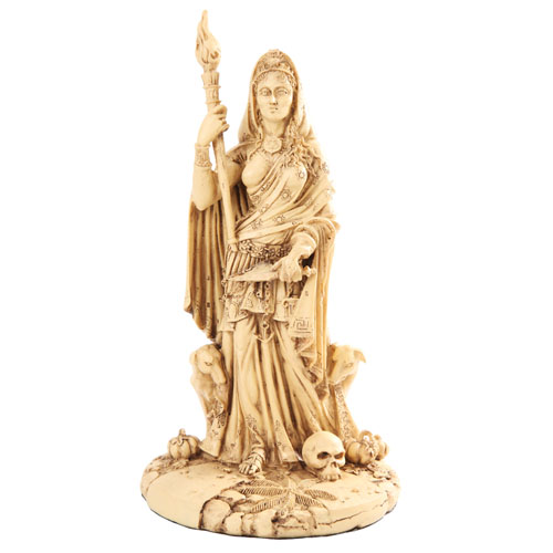 Goddess Hekate Hecate Statue by Maxine Miller #10721