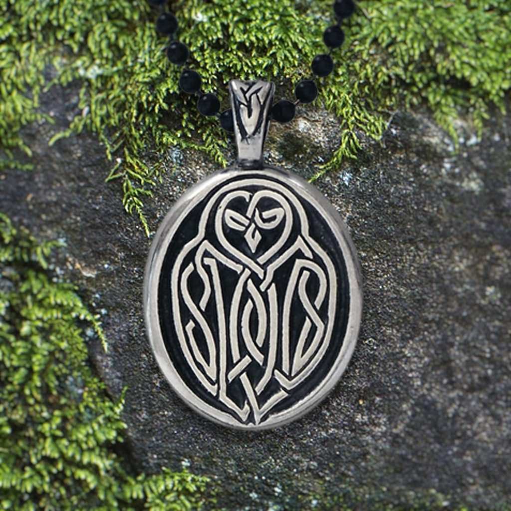 Celtic owl pendant w your wisdom will guide you true celtic owl pendant w your wisdom will guide you true affirmation on the buycottarizona