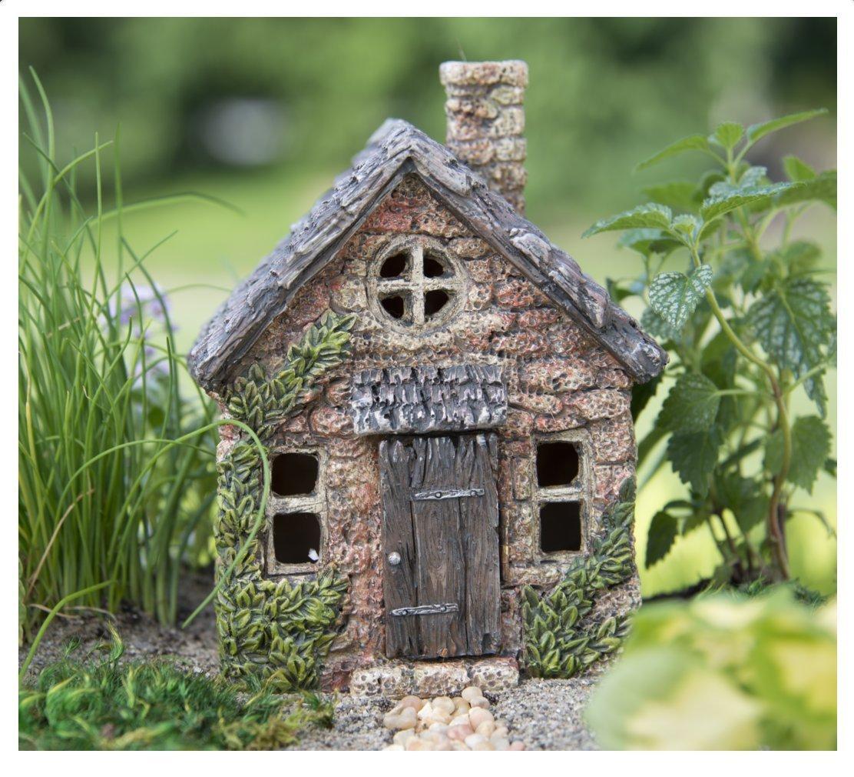 miniature fairy garden house mini bucklin cottage fgmbc - Fairy Garden Houses