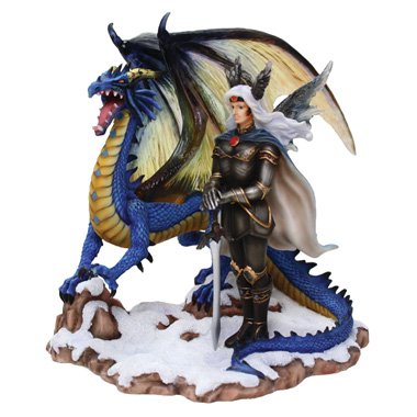 Nene Thomas Sapphire Male Fairy Dragon Figurine Nt143