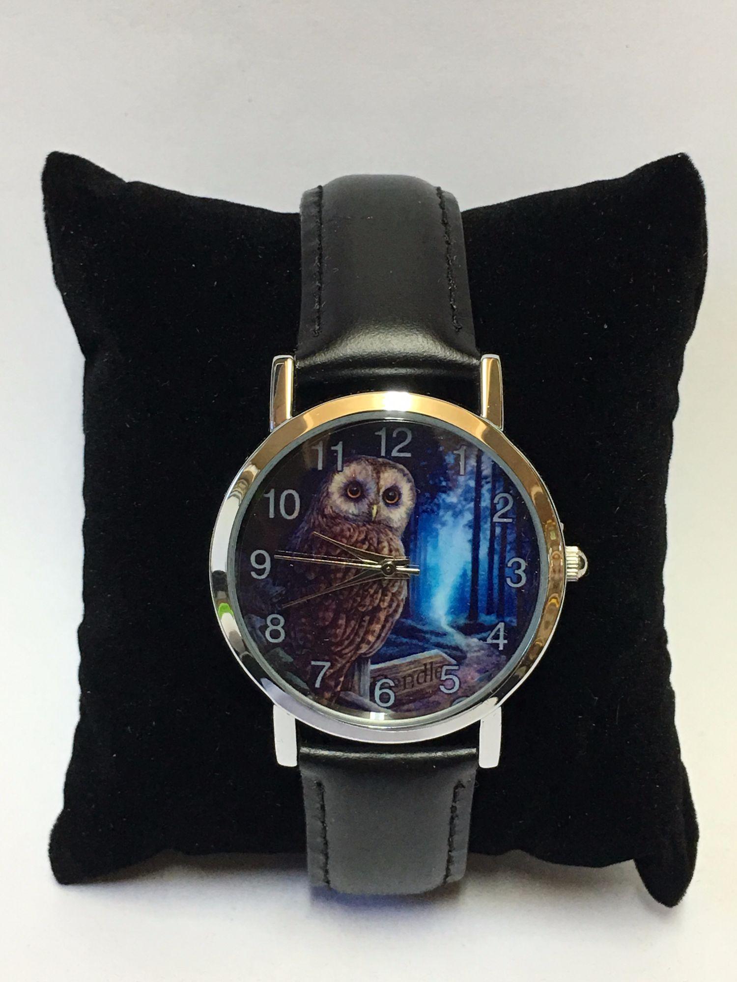 Sale Way Of The Witch Owl Wrist Watch By Lisa Parker Lpww