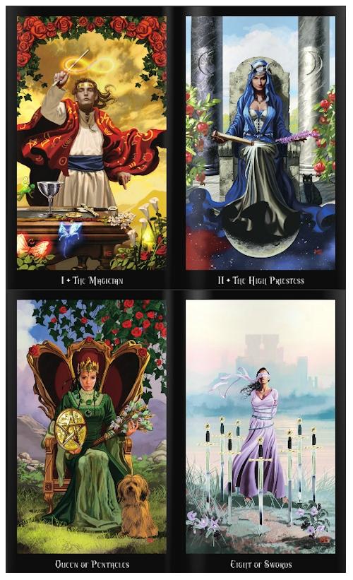 The Witches Tarot Deck And Book Set By Ellen Dugan Wtarot