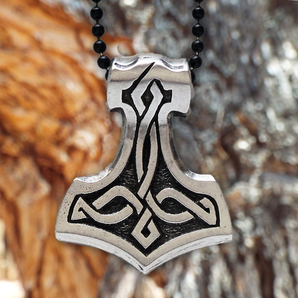 Viking Thor S Hammer Mj 246 Lnir Pendant For Protection Cwthp