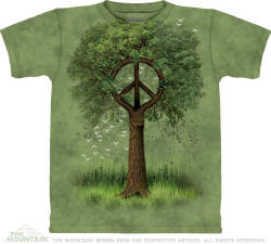 Cool Peace Sign Tee Shirts