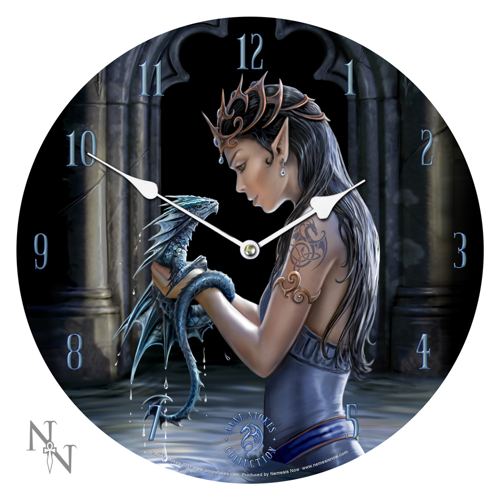 Fantasy Art Clocks