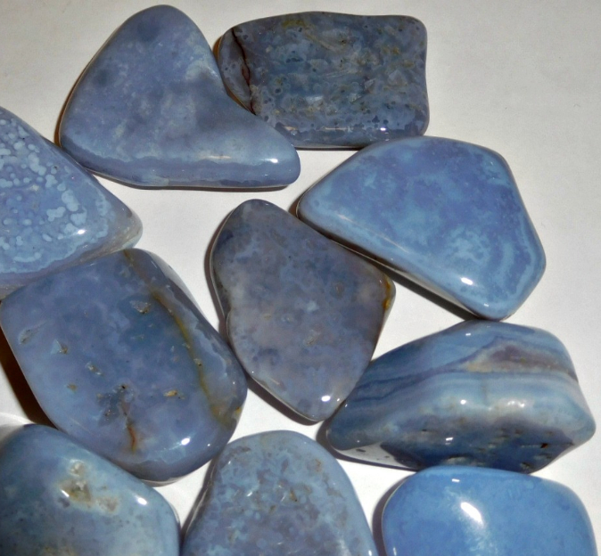 Relax Stone: Blue Chalcedony: Stone Of Relaxation