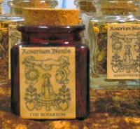 Rosarium Blends Magical Incense and Oils
