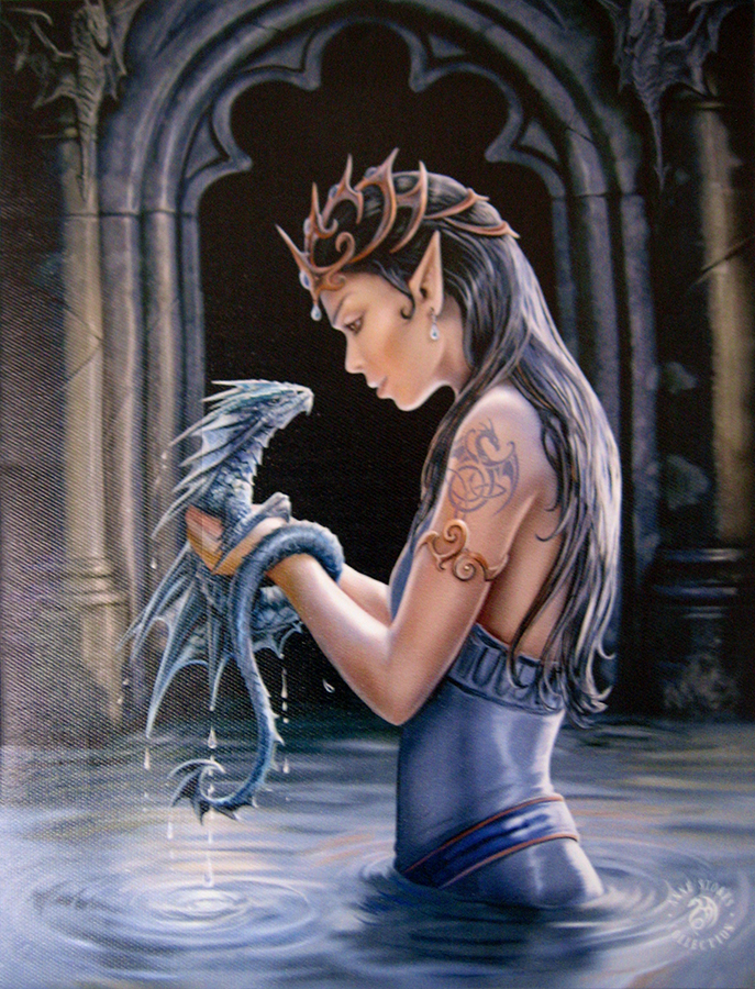 Canvas Prints by Anne Stokes