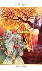 78 Carnival Tarot Deck and Book Set Self Published