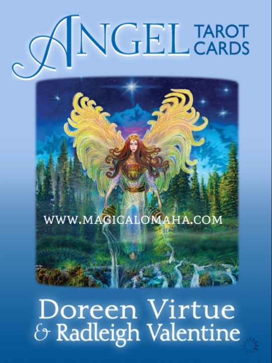 ANGEL TAROT CARDS (78-card deck & guidebook) - DV-ATC