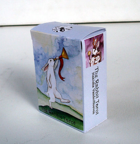 Adorable Rabbit Tarot Deck by Nakisha Self Published 3rd edition