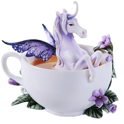 Amy Brown Cup Enchanted Unicorn Figurine  Amy Brown Cup Enchanted Unicorn Figurine, Unicorn Statue