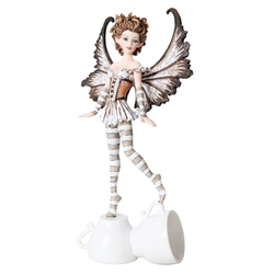 Amy Brown Espresso Faery Figurine