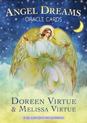 Angel Dreams Oracle Cards & Guide Book by Doreen Virtue