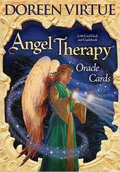 Angel Therapy Oracle Cards& Guide Book by Doreen Virtue