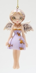 Angel in Lilac Fairy Ornament by Jasmine Becket-Griffith