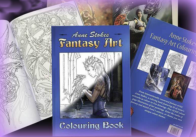 Anne Stokes Coloring Book