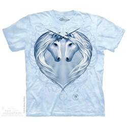 Anne Stokes Unicorn Heart T-Shirt