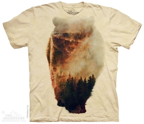Approaching Bear Totem Tee Shirt