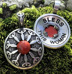"Avalon Blessings Pendant ""Bless This Woman"" Pendant"