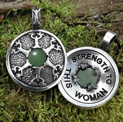 "Avalon Blessings Pendant ""Strength To This Woman"" Pendant"
