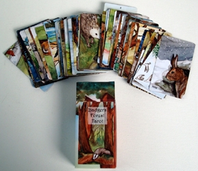 Badger Forest Tarot Deck by Nakisha Self Published