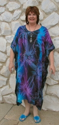 Beautiful Long Embroidered Caftan Top/Dress