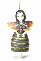 Beetle Wings Fairy Ornament by Jasmine Becket-Griffith