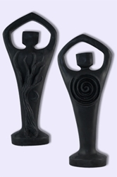 Black Spiral Lord statue 8 3/4""