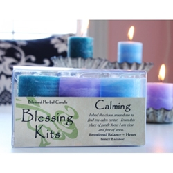Blessed Herbal Candle Calming Blessing Kit