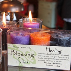 Blessed Herbal Candle Healing Blessing Kit