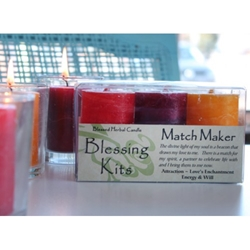 Blessed Herbal Candle Matchmaker Blessing Kit