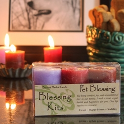 Blessed Herbal Candle Pet Blessing Blessing Kit