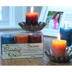 Blessed Herbal Candle Success Blessing Kit