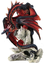 Bloodfire Dragon Statue by Andrew Bill Bloodfire Dragon Statue by Andrew Bill,Andrew Bill Dragons, Andrew Bill, Collectible Dragons, Collectable Dragons