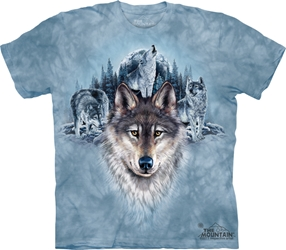 Blue Moon Wolves Tee Shirt 3450