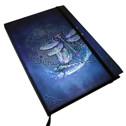 Book of Shadows Celtic Dragonfly Journal
