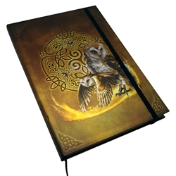 Book of Shadows Celtic Owl Journal