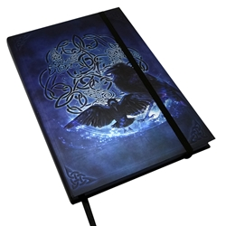 Book of Shadows Celtic Raven Journal