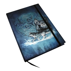 Book of Shadows Celtic Wolf Journal