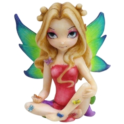 Butterfly Princess Fairy Ornament by Jasmine Becket-Griffith