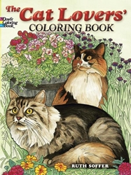 CAT LOVERS COLORING BOOK