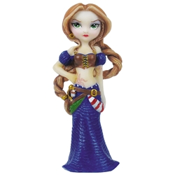Captain Molly Morgan Fairy Ornament by Jasmine Becket-Griffith