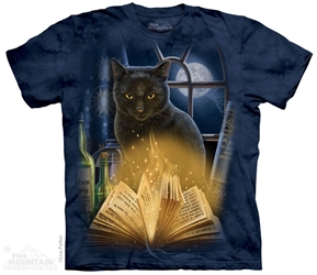 Cat T-Shirt  Bewitched Adult design by Lisa Parker