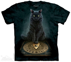 Cat T-Shirt | His Master%27s Voice Tee Shirt by Lisa Parker