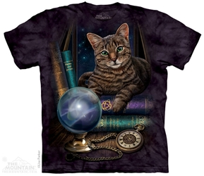 Cat T-Shirt | The Fortune Teller Tee Shirt by Lisa Parker