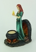 Celtic Brigid Goddess Of Hearth & Home Standing Holding Sacred Flame Statue - UBRID